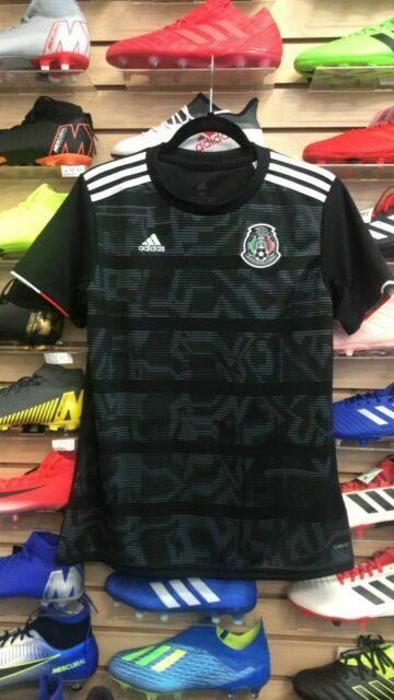 adidas Mexico Black Soccer Jersey 2019 Stadium Quality Size 3xl ...