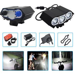 CREE-X2-X3-8-4V-T6-XML-LED-Fahrradlampe-Scheinwerfer-Fahrradlicht-MTB-Licht-Lamp