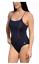 18 NEW Aqua Sphere Anika Open Back Female Navy Swim suit one piece blue Sz 44