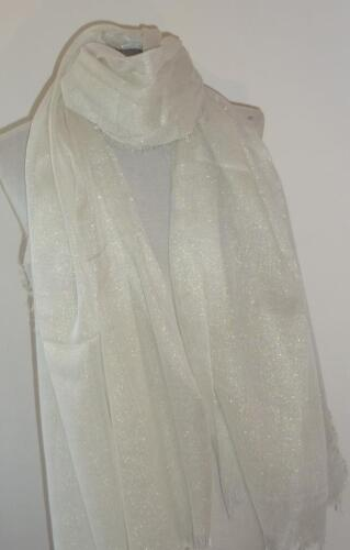 Beautiful Lightweight  Shimmering Gold Lurex Large Scarf Wrap  3 Colours