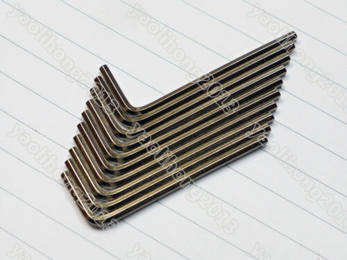 1//16 5//64 3//32 1//8 5//32 3//16 inch L Wrench Hex Allen Wrench Hexagon Key Tool