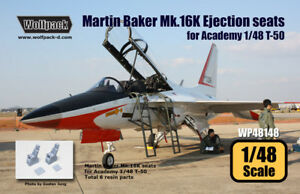 Wolfpack-WP48148-Martin-Baker-Mk-16K-Ejection-seat-set-for-T-50-2p-SCALE-1-48