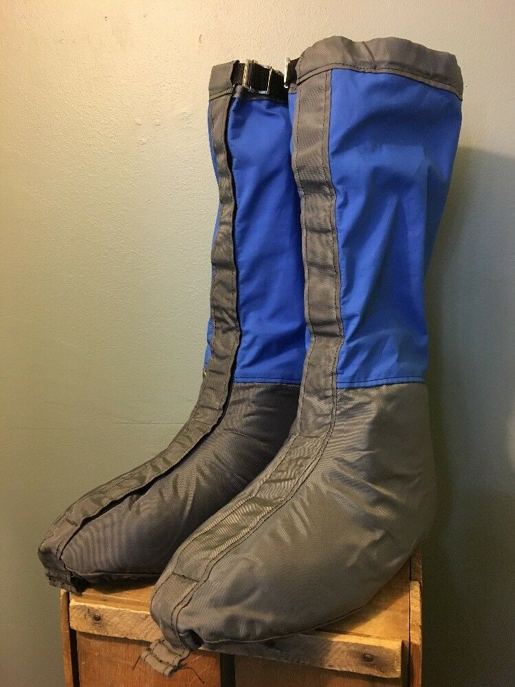 Vintage 70s 80s OR Outdoor Research Gore-Tex Cubrebotas Polainas para hombre XL Escalada Nieve