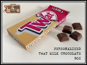 Personalised 100g Twat milk Chocolate box Great Gift Idea - Bootle, United Kingdom - Personalised 100g Twat milk Chocolate box Great Gift Idea - Bootle, United Kingdom