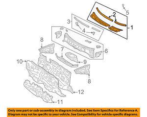 Details about TOYOTA OEM 01-05 RAV4-Cowl Panel Windshield Wiper Motor on