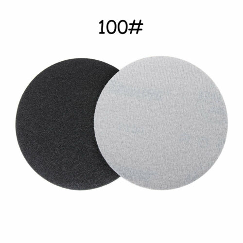 5/'/' inch Round Sandpaper Pads 125mm Silicon Carbide Sanding Disc Grit Wet or Dry