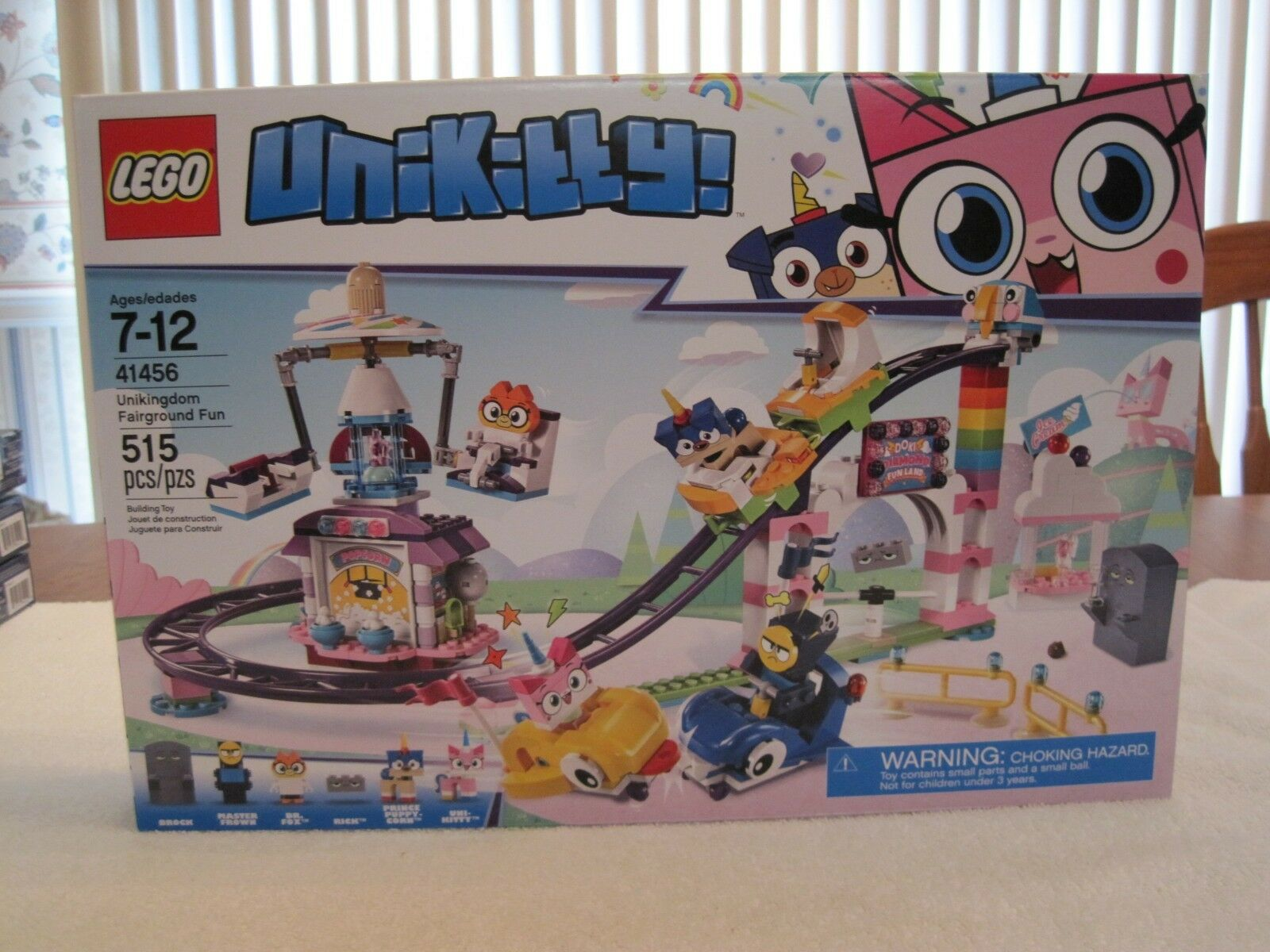 LEGO 41456 UNIKITTY UNIKINGDOM FAIRGROUND FUN--NEW--FACTORY SEALED