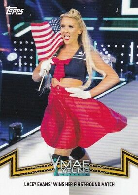 2018 TOPPS WWE Women/'s Division Cox MOMMENTS #nxt-19 Lacey Evans