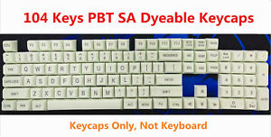 Details about 17/87/104 Keys SA PBT Dyeable Keycaps Arc Spherical for MX  Mechanical Keyboards