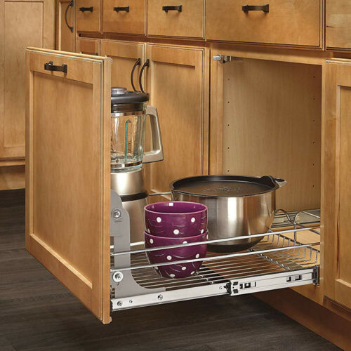 Rev-A-Shelf 5WB-DMKIT Door Mount Kit for Kitchen Cabinet Pull Out Wire Baskets