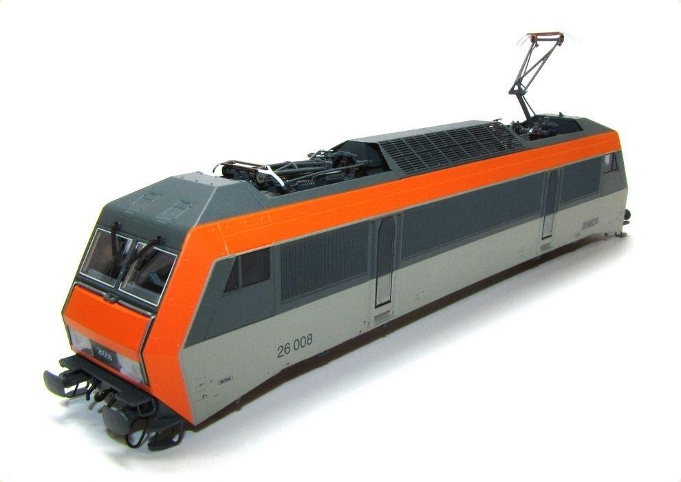 Ersatz-Gehäuse SNCF 26 008 z.B. für ROCO E-Lok BB 26000 Sybic Spur H0 - NEU