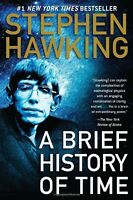A Brief History Of Time By Stephen Hawking, (paperback), Bantam , New, Free Ship