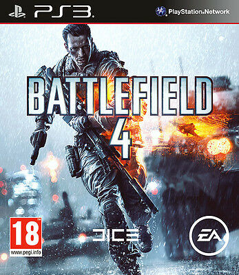 Battlefield 4 ~ PS3 ( in Great Condition)