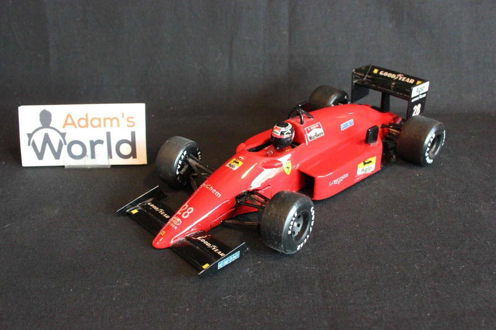¡no ser extrañado! F1 Factory Ferrari F187 88C 88C 88C 1988 1 18  28 Gerhard Berger (AUT) (PJBB) VERY RARE   Los mejores precios y los estilos más frescos.