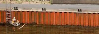 FALLER Quay Wall Model Kit II HO Gauge 131012