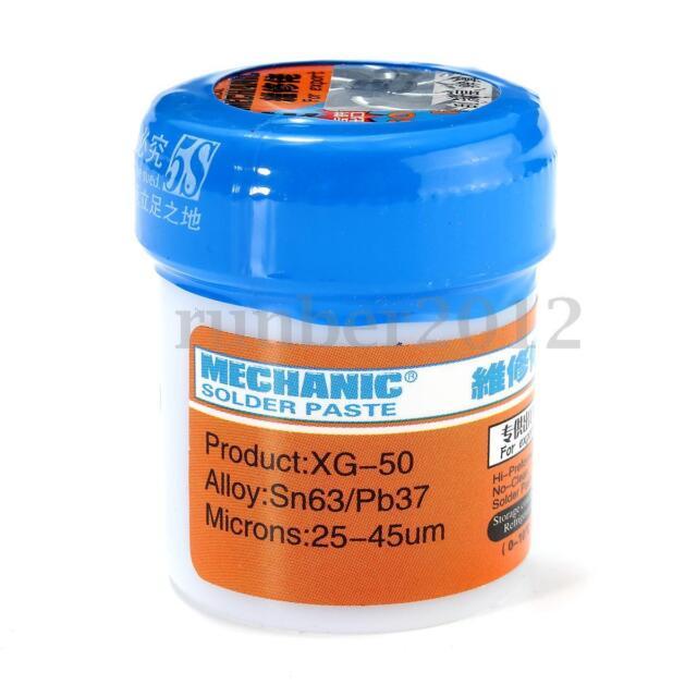 50g Mechanic Soldering Solder Welding Paste Flux MCN-300 SMD SMT Sn63/Pb37 new