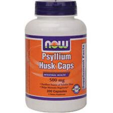 Psyllium Husk 200 Caps 500 mg by Now Foods