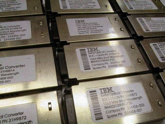 Gigabit gbic module IBM 21h9872 Compaq 234456