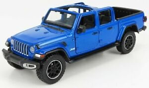 MOTOR-MAX 1/27 JEEP | GLADIATOR PICK-UP OVERLAND HARD-TOP OPEN 2020 | BLUE