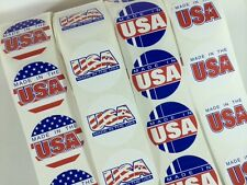 100 Made in the USA Circle Label Stickers Made in the USA eBay Labels Fragile