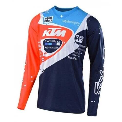 Neptune Troy Lee Adults SE Pro Team KTM Motocross MX Bike Jersey
