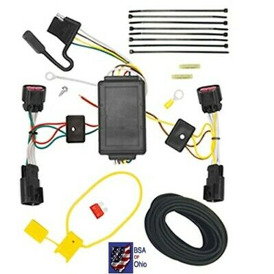 Trailer Hitch Wiring Tow Harness For Chevrolet Equinox 2014 2015 2016 2017    eBay   2015 Chevy Equinox Wiring Harness For Trailer      eBay