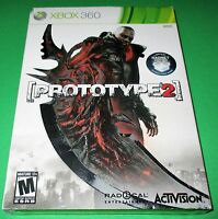 Prototype 2 -- Radnet Edition Microsoft Xbox 360 Factory Sealed Free Shipping
