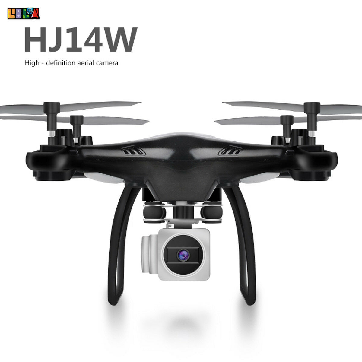 HJ14W Wide Angle Lens HD Camera Drone RC 2.4GHz Drone WiFi 2MP Six Axis Gyro HOT