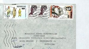 Frugal Cm58 Sengal East African Capot Missionnaire Air Mail Miva-afficher Le Titre D'origine
