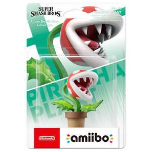 Neuf-034-Nintendo-Amiibo-Piranha-Plante-Interrupteur-Super-Smash-Bros-Ultimate