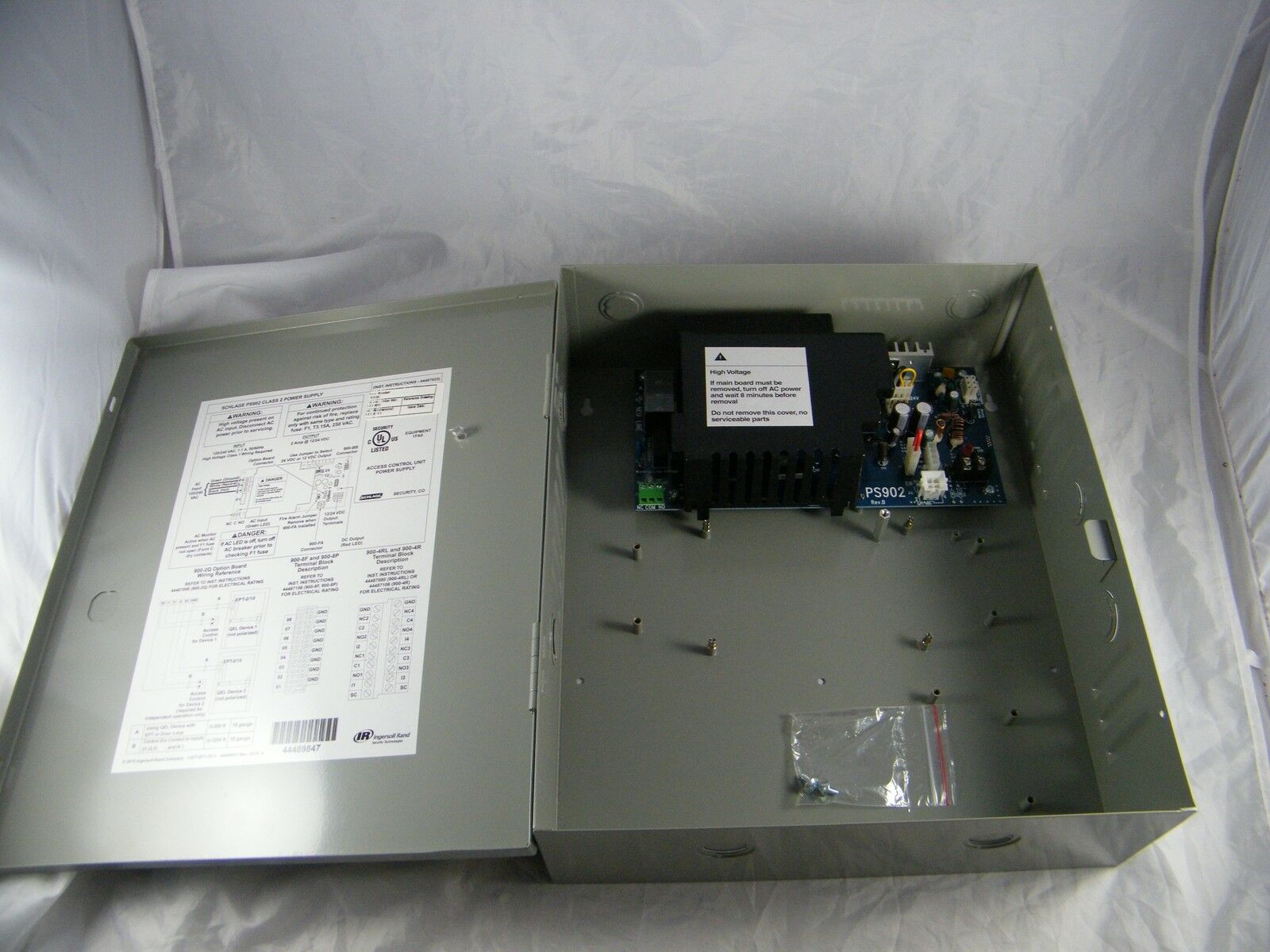 Ps902 Power Supply Wiring Diagram Ps90 Schlage Allegion 2a 4448947 Ebay On Schematics