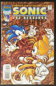 SONIC The HEDGEHOG Comic Book #88 November 2000 KNUCKLES Bagged /& Boarded VF