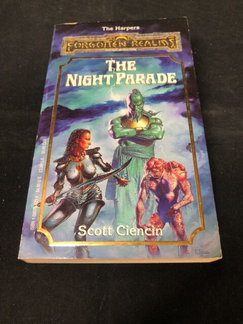 The Harpers: Night Parade Bk. 4 by Scott Ciencin (1992, Paperback)