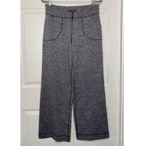 Lululemon Be Still High Waist Wide Leg Gray Pants