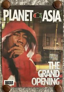Planet-Asia-The-Grand-Opening-Poster-Vintage-New