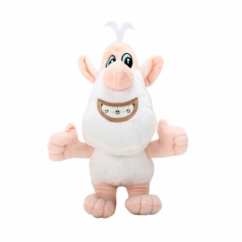 4Plush Toys Russia Booba Buba White Pig Cartoon Cooper Soft Doll Filled Gift UK