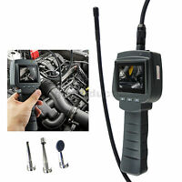 Visual Inspection Camera 4 Led Borescope 9mm Pipe Car Scope Endoscope 1m Cable