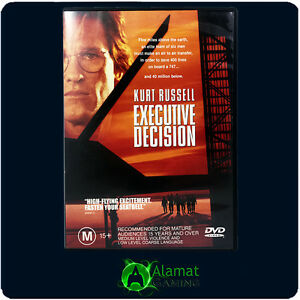 Executive-Decision-DVD-Kurt-Russell-Steven-Seagal-Hijack-Action-Thriller