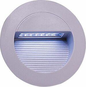 Knightsbridge NH017W modern outdoor round led encastré mur lumière économie d'énergie-afficher le titre d`origine MPfr7sWR-07212425-881067996