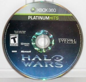 Halo-Wars-Microsoft-Xbox-360-2009-Platinum-Hits-Video-Game-Disc-Only
