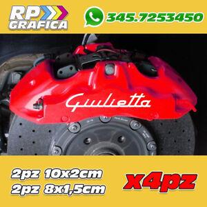 KIT-4-ADESIVI-ALFA-ROMEO-sticker-PINZE-FRENO-GIULIETTA