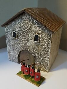 28mm-ROMAN-TWO-STOREY-HOUSE-GR27P-PAINTED-GANGS-OF-ROME-SENT-FIRST-CLASS