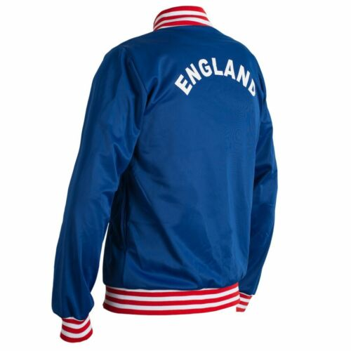 England 1966 Retro Football Jacket Tracksuit Zipped Jumper Man Top World Cup