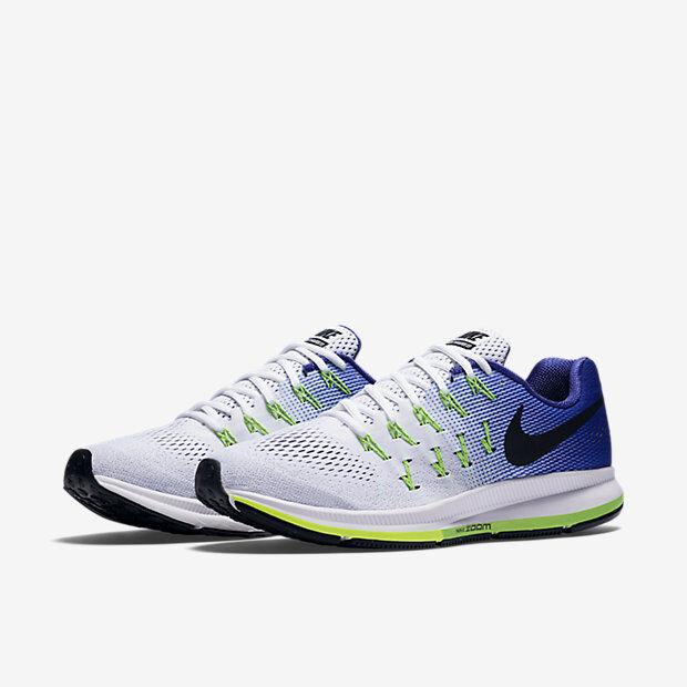 Nike - Air Zoom Pegasus 33 - Scarpe Running Uomo - Blu/Bianco - 831352 103