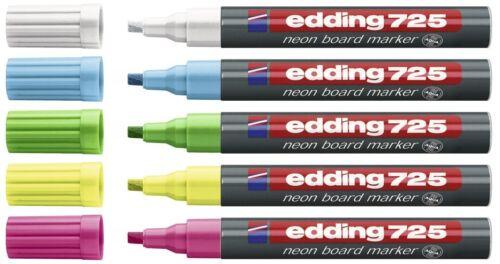 edding 725 Neon Boardmarker mit Keilspitze 2-5mm Farbe wählbar