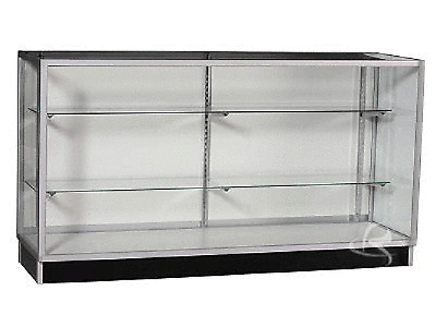 1800MM Long GLASS Vision Showcase Display Cabinet Counter #KD6G