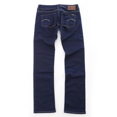 G-Star 3301 straight wmn Damen Jeans Hose neu ito superstretch blau new