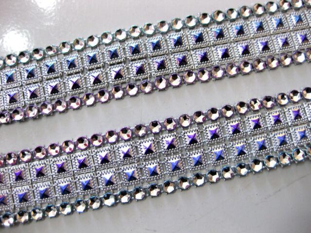 1m glänzende Borte,verschiedene Farben,28mm breit, (R11)