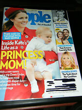 People Magazine - Princess Kate & Baby George Cover - April, 2014