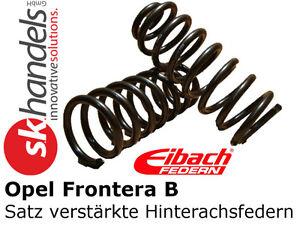 Satz Federn Opel Frontera B Typ 6 hinten Fahrwerksfedern verstärkt Hinterachse - Deutschland - Rücknahmen akzeptiert - Deutschland